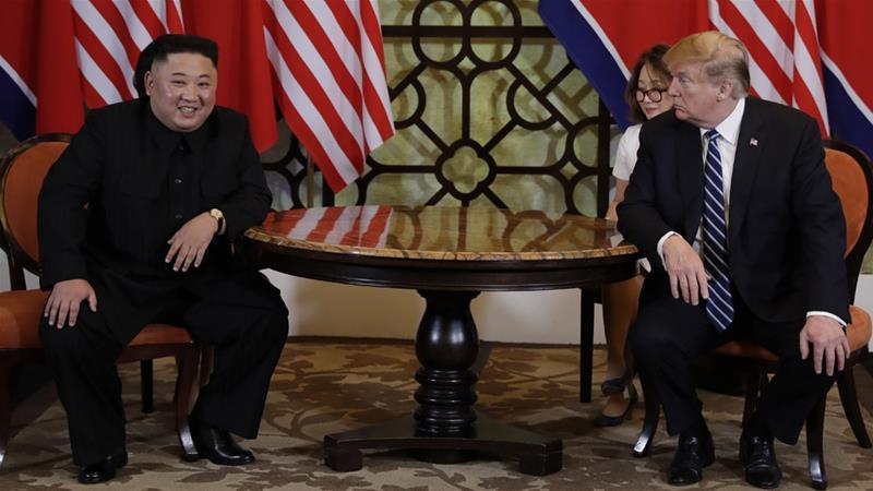 كم جونغ أون ودونالد ترامب