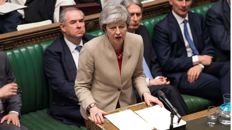 تيريزا ماي تفكر في التصويت الرابع على صفقة خروج بريطانيا من الاتحاد الأوروبي