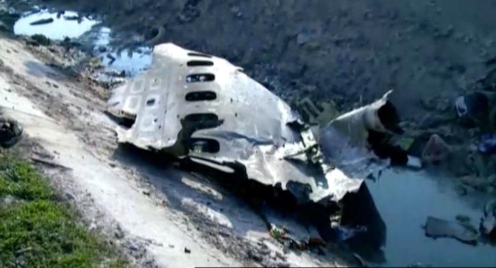 تحطم الصندوق الأسود للطائرة الأوكرانية المنكوبة في إيران