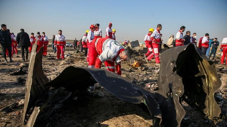 السلطات الإيرانية تعتقل شخصا صور لحظة استهداف الطائرة الأوكرانية