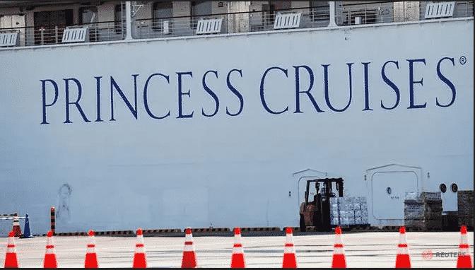 إصابة 40 أمريكي بفيروس كورونا الجديد على متن سفينة سياحية في اليابان