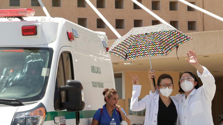 الصحة المكسيكية تسجل 6891 إصابة جديدة و665 وفاة بسبب كوفيد 19